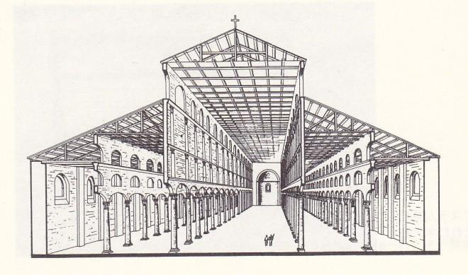 ネア教会復元図